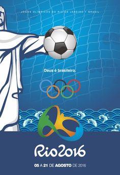 Olympics Game - Rio 2016 by Immaginare Escola de Criação e Design , via Behance