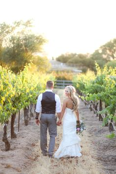 Photography: B. Schwartz Photography - bschwartzphotography.com Read More: http://www.stylemepretty.com/california-weddings/2014/09/30/romantic-paso-robles-winery-wedding/