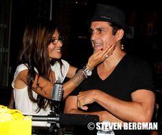 Vanessa Marcil Giovinazzo and Maurice Benard Reunite at Baby Gagoo's East Coast Launch