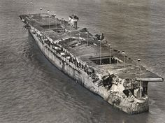 Wreck of the ex-USS Independence (CVL-22) discovered lamazingly intact  in 2015 by oceanographer Robert Ballard
