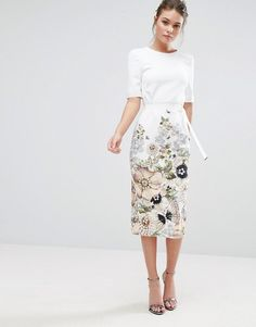 Ted Baker Layli Pencil Dress - reception ceremony