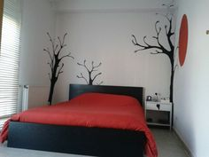 Trees in a room