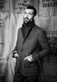 Harris Tweed Birdseye Check Jacket by Toast