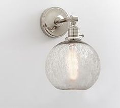 Bathroom Sconces Pottery Barn bamboo sconce | pottery barn @ $129 | sconces & wall lights
