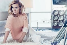 St. John, Kate Winslet Spring 2012  Photographed by Craig McDean