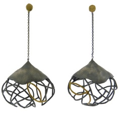 Beverly Tadeu.....Sooo...different, love 'em!  Inspiring with wire wrapped projects....for sure!
