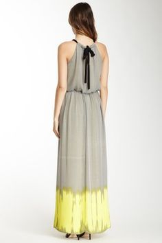 HauteLook | $69 & Over: Vince Camuto Halter Neck Maxi Dress