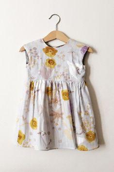 aad4a2d24a0 Handmade Floral Baby Toddler Dress