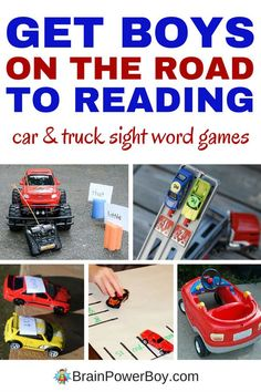 Play these 7 awesome car and truck sight word games as a way to help boys learn to read. They are fun hands-on learning ideas your vehicle lover is sure to go for. We really like #7. Click picture to read the article.