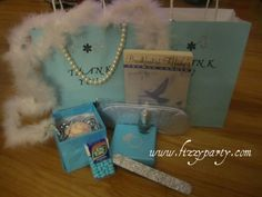 breakfast at tiffany's party favors | Fizzy Party: Breakfast at Tiffany's Birthday Party