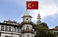 """Osmanlı sarayının mutfak ihtiyacını karşıladığı için """"sarayın arka bahçesi"""" olarak nitelendirilen Bolu'nun Göynük ilçesi, tarihi dokusu ve doğal guzellikleriyle ilgi cekiyor."""