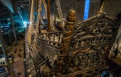 Stockholm's Vasa Museum is home to a remarkably preserved 17th-century warship that sank in 1628 and was raised 300 years later.