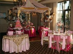 Erica Campbell's Regal Pink & Gold Baby Shower