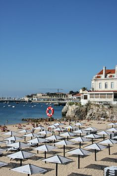 Cascais beach, Lisbon Region, Portugal