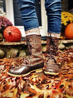fall style - LL Bean fall boots