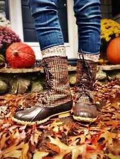 fall style - LL Bean fall boots