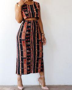 African Print Dresses, African Print Fashion, African Fashion Dresses, African Dress, Fashion Prints, Ankara Fashion, Africa Fashion, Tribal Fashion, African Prints