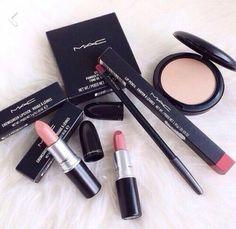 Mac pink makeup