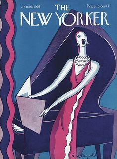 The New Yorker January 16, 1926  Cover Art - Stanley W. Reynolds (cropped)