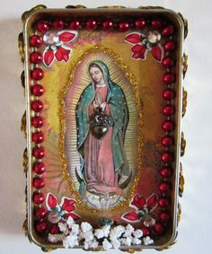 Our Lady of Guadalupe Nicho by CherryPicks on Etsy,