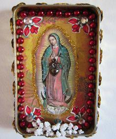 Nicho de nuestra Señora de Guadalupe