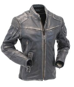 Looking for Vintage Motorcycle Cafe Racer Men Biker Distressed Leather Jacket ? Check out our picks for the Vintage Motorcycle Cafe Racer Men Biker Distressed Leather Jacket from the popular stores - all in one. Distressed Leather Jacket, Men's Leather Jacket, Biker Leather, Leather Jackets, Real Leather, Jacket Men, Cow Leather, Motorcycle Leather, Anorak Jacket