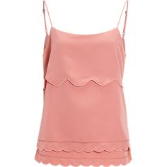 Singlet, Scalloped singlet - Costes