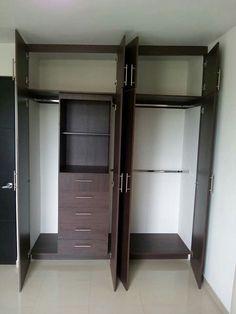 Wardrobe Cabinets, Bedroom Wardrobe, Closet Bedroom, Small Bedroom Furniture, Pole Barn House Plans, Metal Building Homes, Home Decor, Wooden Tv Stands, Metal Barn Homes