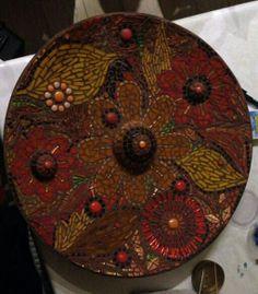 autumn. Mosaic mandala. Beautiful!