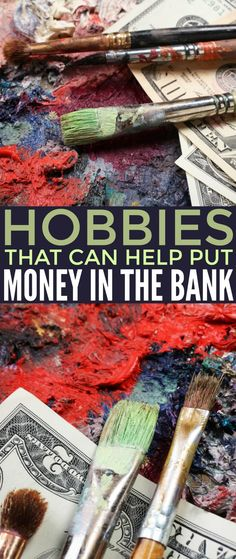 Hobbies That Can Help Put Money in the Bank so you can boost your personal finances.You can't go wrong making money doing what you love! Money Making Crafts, Hobbies That Make Money, New Hobbies, Crafts To Do, Make Money From Home, Way To Make Money, Make Money Online, Popular Hobbies, Cheap Hobbies