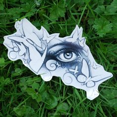 Faerie Eye Temporary Tattoo  Butterfly Temporary by OctaviaTattoo, £5.50