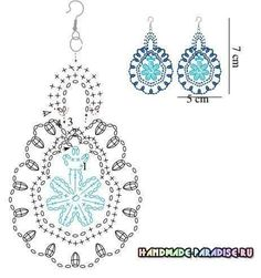alice brans posted Crochet diagram to make earrings, Spanish site to their -crochet ideas and tips- postboard via the Juxtapost bookmarklet. diagram for crochet earings! more diagrams on site :) … Divinos aros tejidos al crochet. Crochet Jewelry Patterns, Crochet Earrings Pattern, Crochet Flower Patterns, Crochet Accessories, Crochet Flowers, Tatting Patterns, Diy Flowers, Crochet Necklace, Crochet Diy