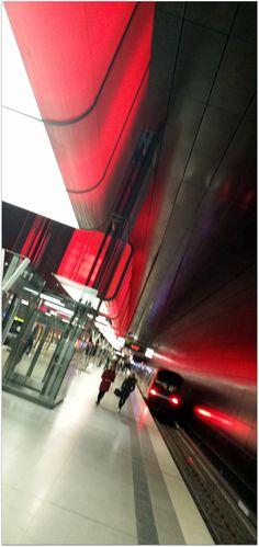 Hamburg U-Bahn Station
