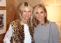 Crystal Lourd and Tory Burch