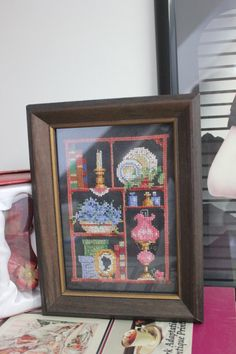 Cross stitch (counted) by Barb Fridley :)