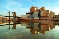 MUSEO GUGGENHEIM BILBAO  ARQUITECTO: Frank O. Gehry  LUGAR: España, País Vasco, Bilbao  FECHA: 1997