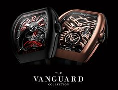 The Vanguard collection stands out with its strong architecture and modern attributes