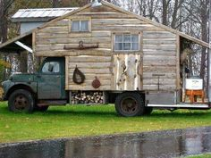 Hunting shack on wheels...LOL!!