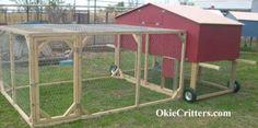 Diy Portable Chicken Coop   do it yourself diy instructions chickendiyguides the portable backyard ...