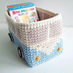 Baby time Toy storage, nursery basket, toy organizer, kid's room storage, b'day gift Nursery Storage, Nursery Toys, Toddler Rooms, Toddler Gifts, Crochet Home, Crochet Baby, Toy Storage Baskets, Kids Room Organization, Baby Time