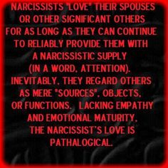 Tempting Trouble's Tales: Narcissists' Love