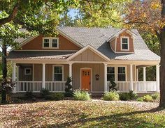 Wraparound Porch Charmer - 12613MH | Cottage, Country, Craftsman, Photo Gallery, 1st Floor Master Suite, Butler Walk-in Pantry, CAD Available, Loft, PDF, Wrap Around Porch | Architectural Designs