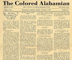 On the front page of this scarce black newspaper published from 1907-1916, educator Booker T. Washington writes a letter expressing shock and dismay concerning the brutal lynching of 4 blacks (2 men & 2 women) for the crime of whipping a policeman at Monticello, Georgia. He condemns lawlessness on the part of blacks, but says it doesn't give others the right to also commit lawless acts. He strongly asserts that law and order is what is needed among all peoples.