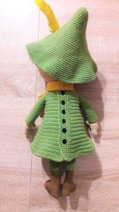 Ravelry: Snufkin / Włóczykij pattern by Sylwia Biniecka Crochet Case, Crochet Toys, Knit Crochet, Little My, Chrochet, Knit Patterns, Pet Toys, Free Pattern, Snoopy