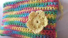cartucheras tejidas al crochet - Buscar con Google