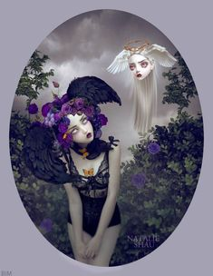 Art by Natalie Shau ..Love it !