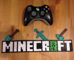 Minecraft banner perler beads by  cakesmj