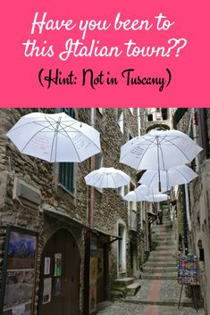 Small Towns in Italy: Have you seen this Italian town in the region of Liguria?? There is much more beyond the Cinque Terre!! #Italy #Travel