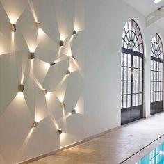 indirekte wandbeleuchtung indirekte beleuchtung wandgestaltung deko ideen6