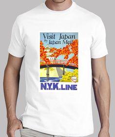 Camisetas Camiseta hombre Visit Japan